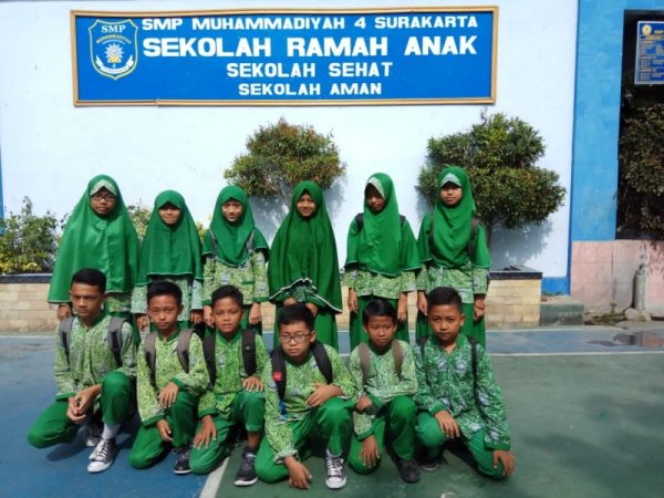 Peserta Mit Dan Tryout SD/MI di SMP Muhammadiyah 4 Surakarta