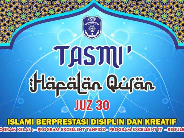 TASMI' AL QUR'AN JUZ 30